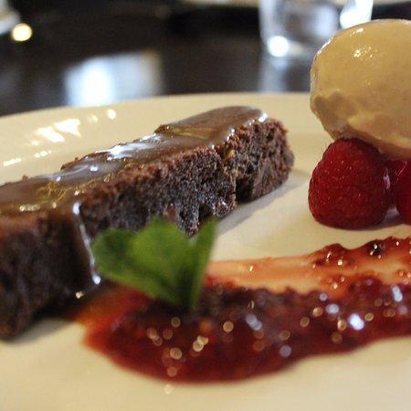Easingwold, UK: Salted Caramel & Chocolate Brownie