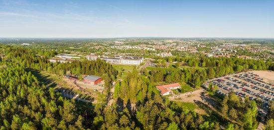 Skovde, Suécia: Vy över Skövde