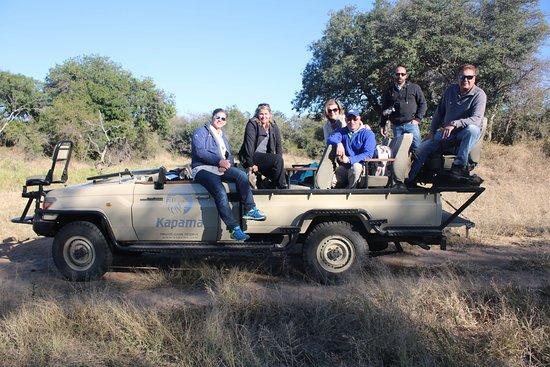 Kapama River Lodge: The vehicles used on safari