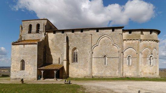 Castillon-la-Bataille, Frankrig: mur sud