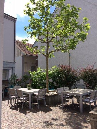 Klingnau, Schweiz: Gartensitzplatz