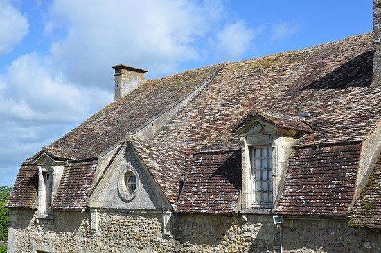 Nogent-le-Rotrou, ฝรั่งเศส: Toiture du logis