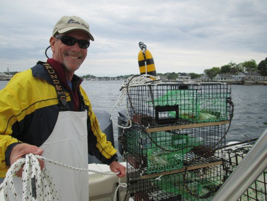 Gloucester, Массачусетс: Come pull our lobster traps with us on a harbor - lobster tour!