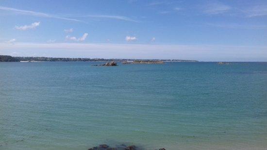 Saint-Jacut-de-la-Mer, França: Vue de la côte ouest de St Jacut