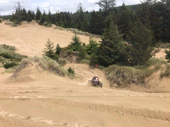 Lakeside, OR: Dune riding