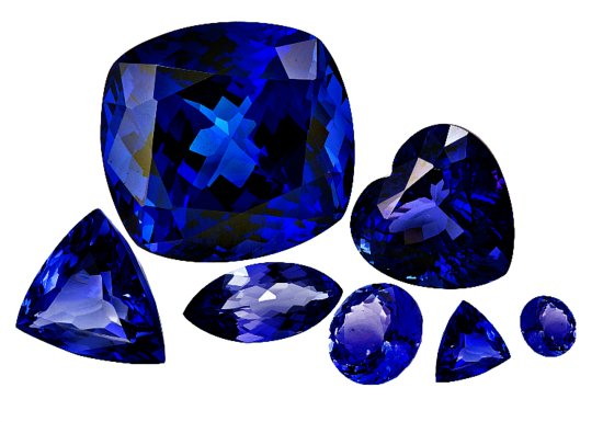 First Diamonds: Loose tanzanite