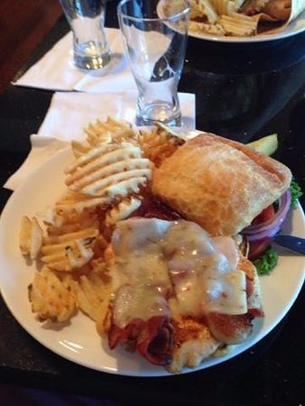 Spokane Valley, WA: One of the meals on the menu $11.00