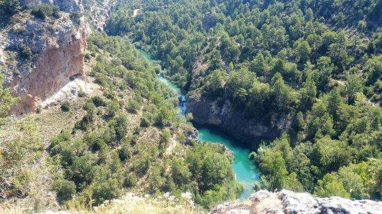 Villalba de la Sierra, Spain: Vista del río