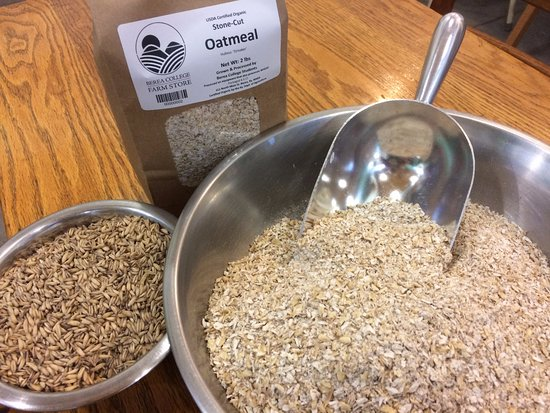 Start your day with satisfying breakfast with organic oatmeal produced by the Berea College Farm