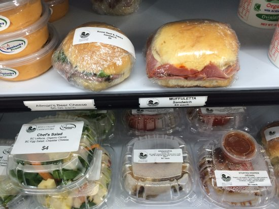 Affordable lunch options from the Berea College Farm