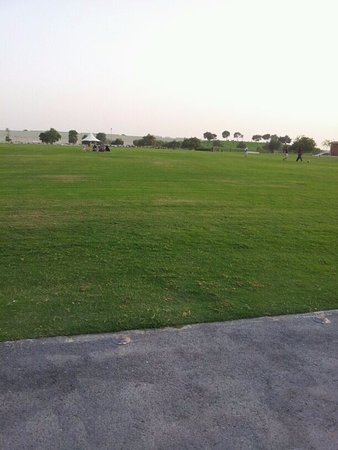 Parc Aspire : الحديقة
