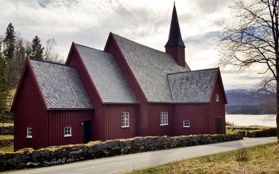 Bronnoy Municipality, Norway: Nøstvik Kirke, Hommelstø, Brønnøy