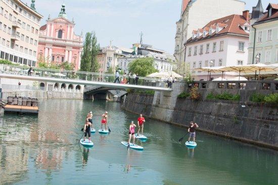‪Bananaway - Stand Up Paddle Tour in Ljubljana‬