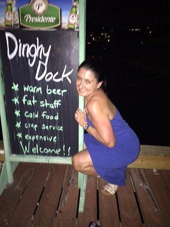 Dinghy Dock Bar OP: We love DD