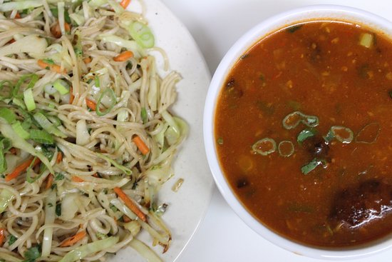 North Wales, PA: Noodles with Veg manchurian