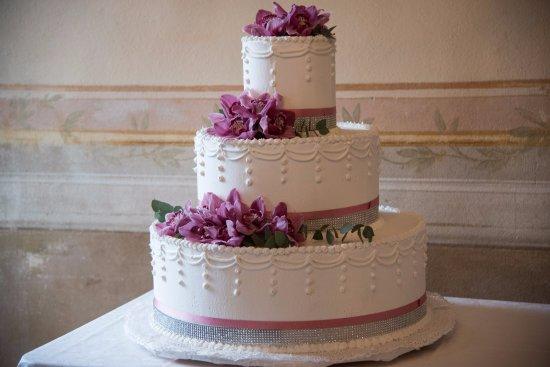 San Pietro di Legnago, Włochy: Wedding cake