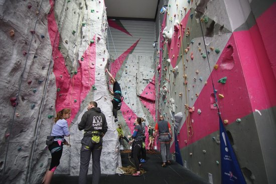 Kinlochleven, UK: rock climbing training bay