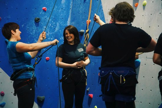 Kinlochleven, UK: rock climbing lesson