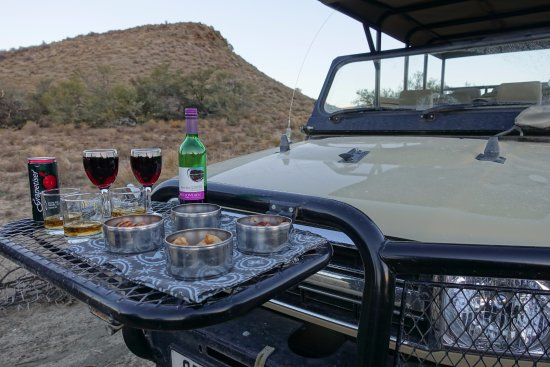Sanbona Wildlife Reserve: Evening picnic, always with a breathtaking view.