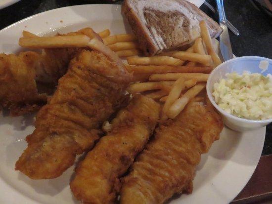 Oconomowoc, WI: Friday night Deep Fried Cod special