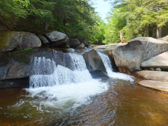 Newry, ME: Screw Auger Falls - minutes from campground