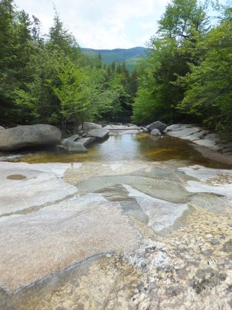 Newry, ME: Step Falls - less than 5 minutes from campground
