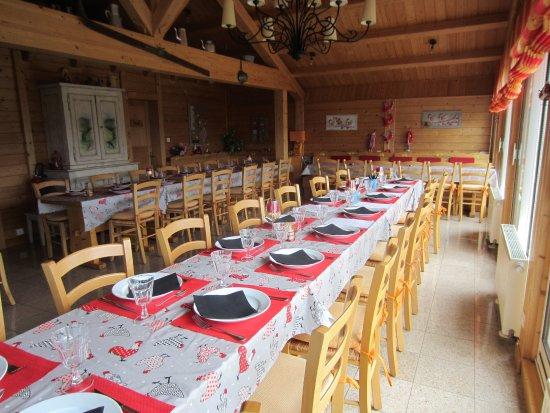 Restaurant Auberge Les Jonquilles: Salle pour groupes