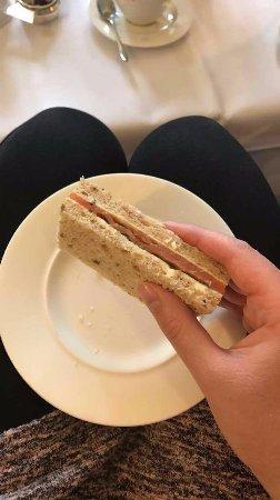 Beanacre, UK : Salmon Sandwich - My favourite