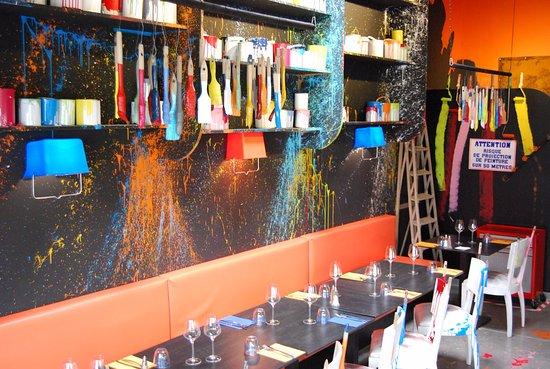 Шамбре-ле-Тур, Франция: L'Espace Peinture