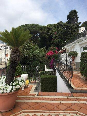 beautiful grounds of the Casa Morgano