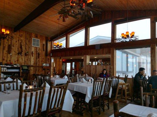 Pisgah Inn Restaurant The Is Adjacent To Check In Desk At