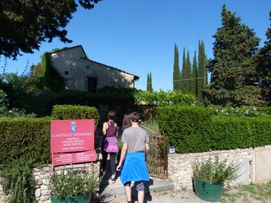 Montespertoli, Italia: Castelo Sonnino.