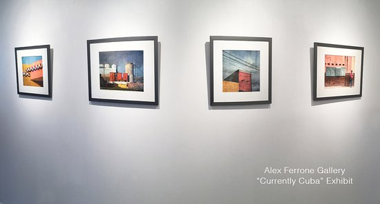 "Cutchogue, NY: Alex Ferrone Gallery - ""Currently Cuba Exhibit through July 3, 2017"