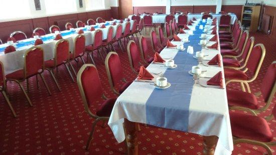 Ripley, UK: Town Twinning meal