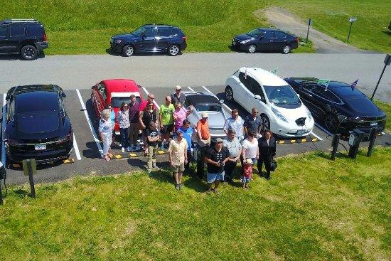 Mount Airy, MD: EV parking