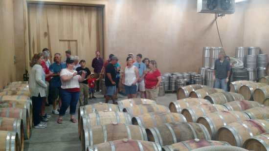 Mount Airy, MD: Barrel room