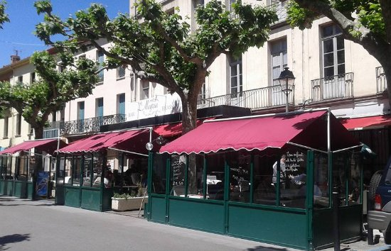 Prades, France: la superbe terrasse