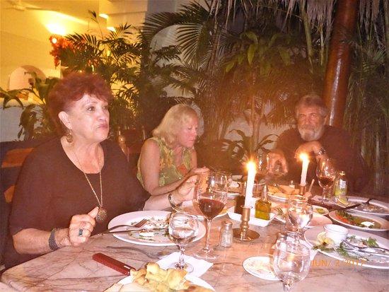 Cafe Santa Fe: Cana a la luz de las velas