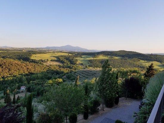 Castelmuzio, Italia: Morning View