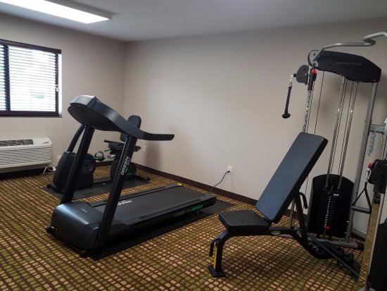 Oacoma, SD: Exercise room
