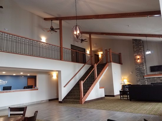Oacoma, Dakota del Sud: Lobby area