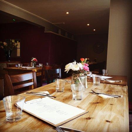 Oaksey, UK: Restaurant