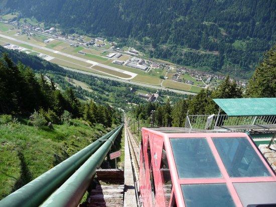 Piotta, Switzerland: Stazione d`arrivo