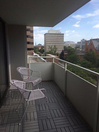 Warwick Denver Hotel: Incredibly Spacious Balcony