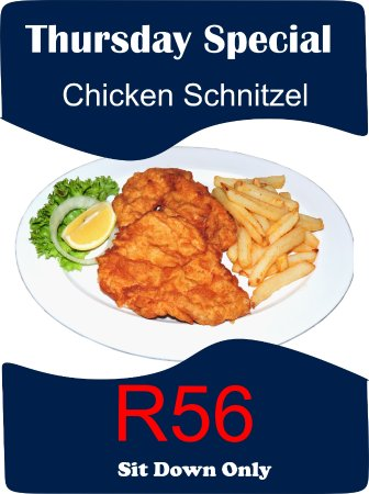 Kempton Park, South Africa: Served with a starch of your choice