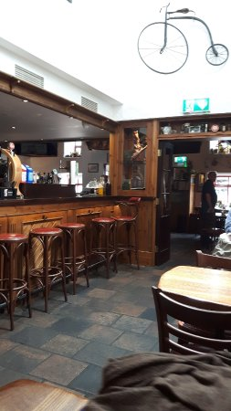 Oughterard, Irland: Inside bar