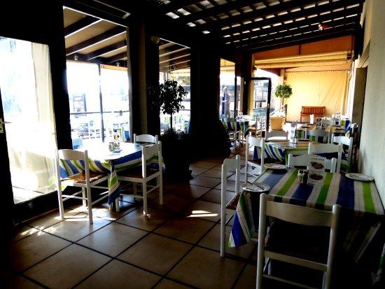 Kempton Park, جنوب أفريقيا: The area just before the deck