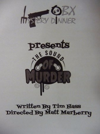 OBX Mystery Dinner: The program and your ballot