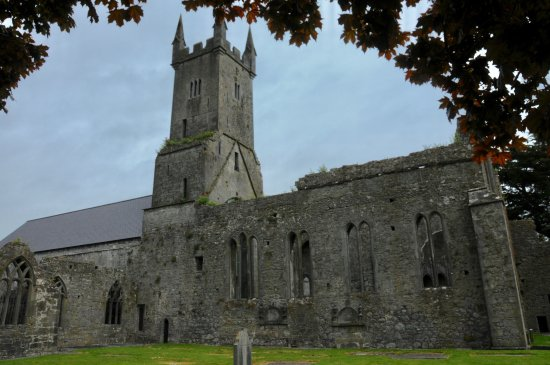 Ennis, Ireland: well preserved
