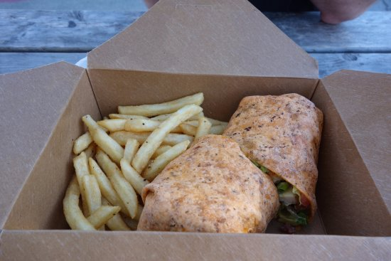 Coupeville, WA: $16 wrap. Nothing special - just overpriced.